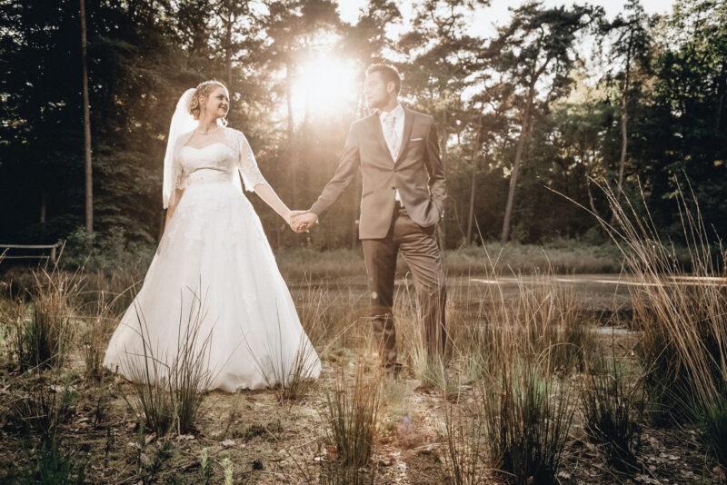 Brautpaar Hochzeitsfotograf Schloss Raesfeld