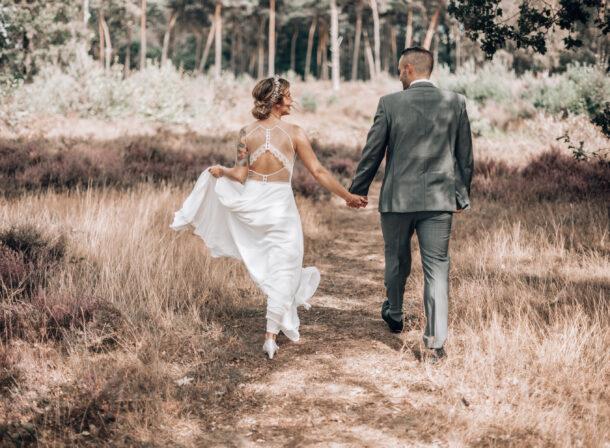 Hochzeitsfoto Dingdener Heide