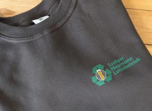 Gartenbau Softshell mit Logo